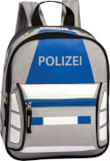 Rucksack Polizei hellgrau aus Polyester