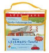 Lesemaus Meine Lesemaus-Tasche - Fahrzeuge, Fußball, Abenteuer