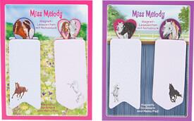 Depesche 3902 Miss Melody Magnet Lesezeichen  mit Notizblock